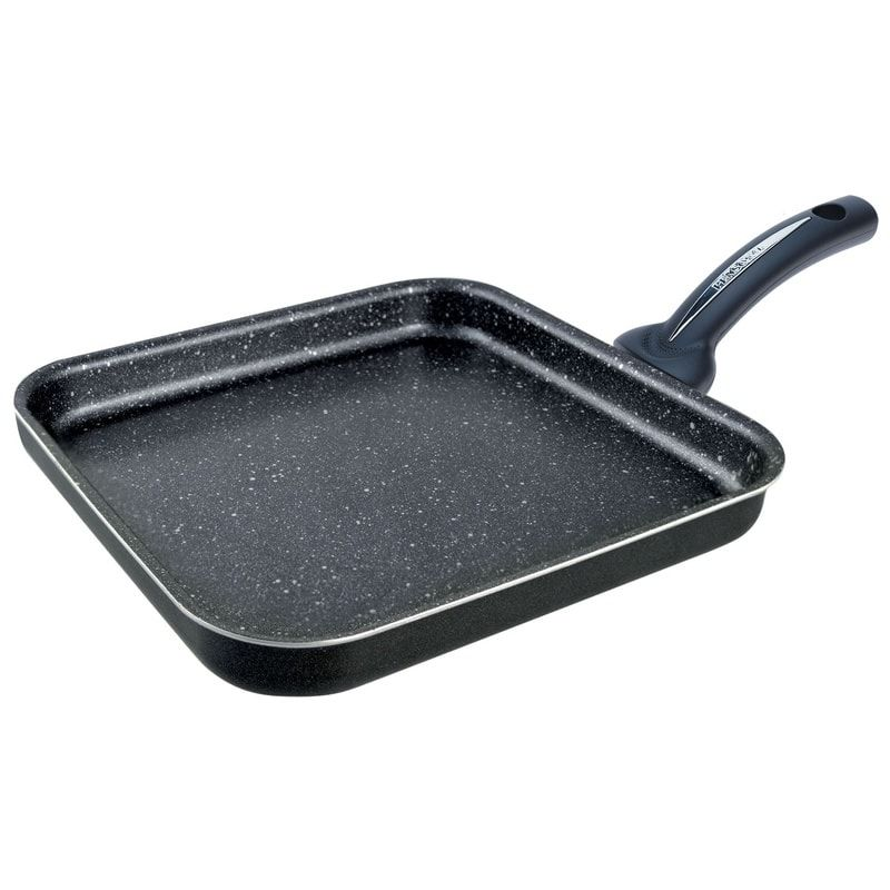 ILSA Dietella Induction Rectangular Enamelled Cast Iron Induction Grill Pan 23 x 36 cm Made in Italy